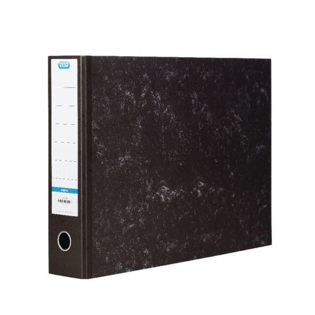 ELBA BLACK MARBLE EFFECT A3 OBLONG LANDSCAPE LEVER ARCH FILE / 70mm / 100080747