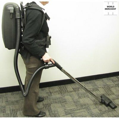 Hepa Exclude Back Pack Vacuum Cleaner Backpack Vac Blower Commercial Cleaning 8qt