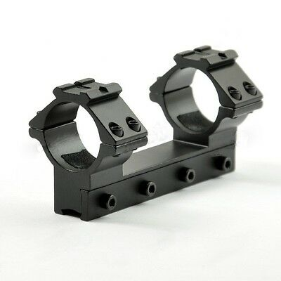 One-Piece 1 Inch Riflescope Mount With Top Rail For Dovetail Rail