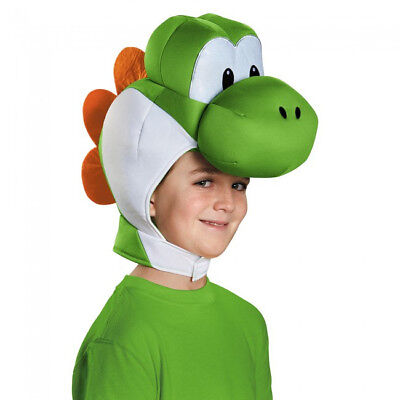 Yoshi Kinder Kopfbedeckung Super Mario Bros.Kostüm Kopfbedeckung Zubehör - Mario Bros Kostüm Hut