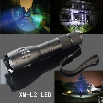 new military grade tactical flashlight led 2000lm