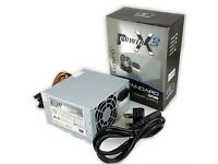 SUMVISION ATX PC POWER SUPPLY UNIT QUIET / SILENT PSU 500W