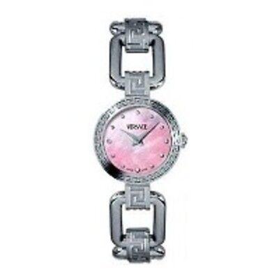 New Versace Mother of Pearl Diamond Women's Watch DSQ99D524S099