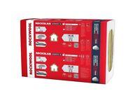 Rockwool Insulation 50mm 70mm 100mm Acoustic Insulation 61cmx100cm BEST PRICE IN U.K.