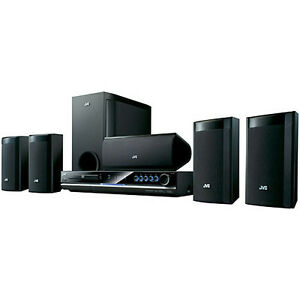 JVC THG30 1000-watt DVD Digital Home Theater System