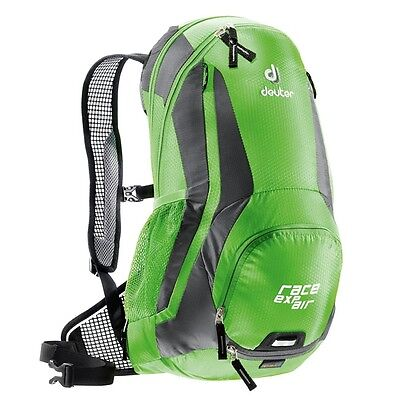 New Deuter RACE EXP Air Back Pack, Spring-anthracite