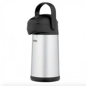 Thermos stainless steel vacuum insulated pump pot, 2.5L