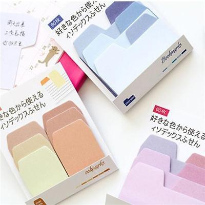 Gradient Color Coding Sticky Tabs Index Tabs Self Adhesive Memo Notes Bookmark F