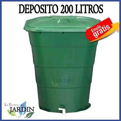 Deposit Water 200 Litres Water Rain Tap Rentangular Jerry Can Polypropylene Tank