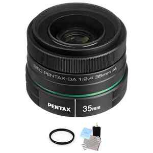 Pentax 35mm DA L F2.4 AL Lens + UV Filter & Cleaning Kit