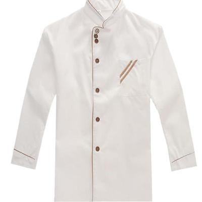 Kitchen Hotel Chef Long-sleeve Overalls Top Jacketcoat Top Work Uniforms Hot S