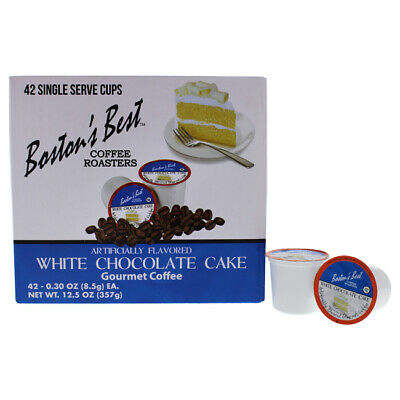 Bostons Best White Chocolate Cake Gourmet Coffee 42 Cups (Best White Chocolate Cake)