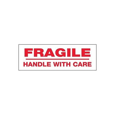 Tape Logic Pre-printed Carton Sealing Tape Fragile Handle With Care 2.2 Mil