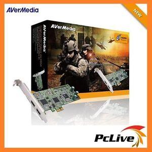 AVerMedia DarkCrystal HD Capture Pro Record 1080i Video Game HDMI Component C027