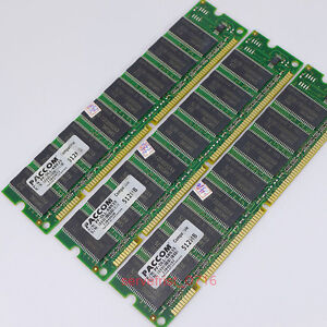 New 1.5GB 3X512MB PC133 133Mhz 168PIN  Desktop Low Density Memory SDRAM Ram