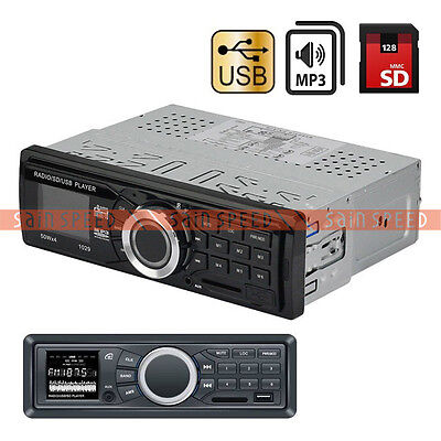 Car Audio Stereo In-Dash MP3 Player Radio FM USB SD AUX input Receiver BINB on Rummage