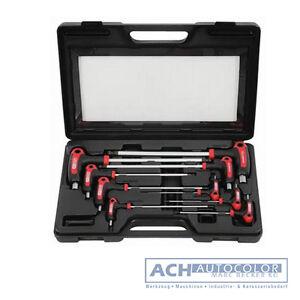 KS-Tools 151.8150 - 9 tlg T-Griff Innensechskant Stiftschlüsselsatz 2 - 12mm