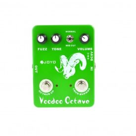 MODIFIED OCTAFUZZ MODDED JOYO JF-12 ULTIMATE FUZZ AND OCTAVE GUITAR bass EFFECT PEDAL