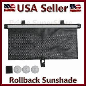 1 New Rollback Sun Shade Window Screen Cover Sunshade Protector Car Auto Truck X
