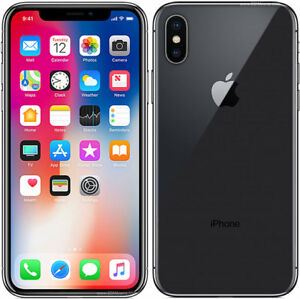 iPhone X 64 GB Unlocked with Warranty