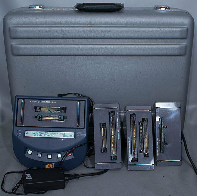 CST SP3000 DDR1 DDR/SDRAM/DRAM PCMCIA/DIMM/SODIMM/SIMM Memory Module Tester Set