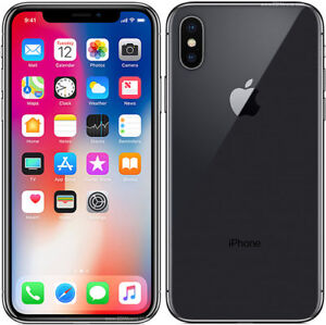 IPHONE X BRAND NEW SEALED BOX 256GB, 1 YEAR WARRANTY WITH APPLE