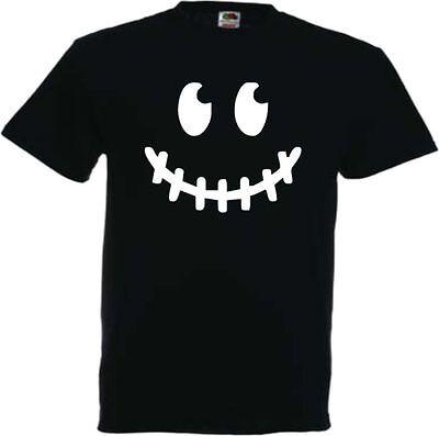 HALLOWEEN FRATZE HERREN T-SHIRT HORROR SCHRECKEN GRUSEL KARNEVAL (Halloween T Shirt Kostüme)