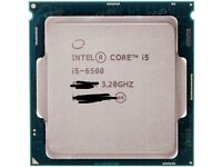 I5 6500 Intel CPU barely used and motherboard