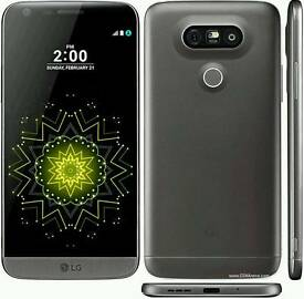 LG G5 SIM FREE BUNDLE WITH CASES AND CAM MODULE