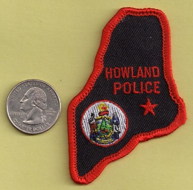 Howland Maine Police Department  NEW Full Time Officer Ball Cap Uniform Patch