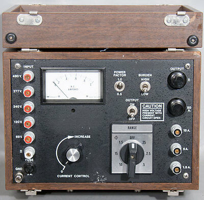 Avo Multi-amp Statesbiddle-megger Pa-2505-69 Phantom Load