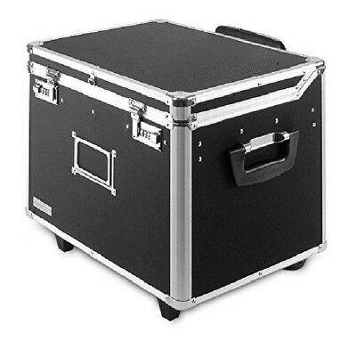 File Box Filing Locking Organizer Legal Holder Rolling Mobile Vaultz Cart Wheels