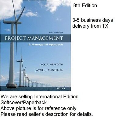 Project Management: A Managerial Approach 8E by Samuel J.