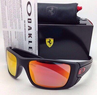 New OAKLEY Sunglasses Special Edition Scuderia Ferrari FUEL CELL OO9096-A8 (Oakley Special Edition Ferrari)