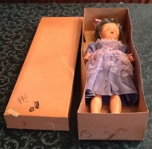 HUGE VINTAGE 1950s Miss Debutante Doll from the NATURAL DOLL CO. New Old Stock