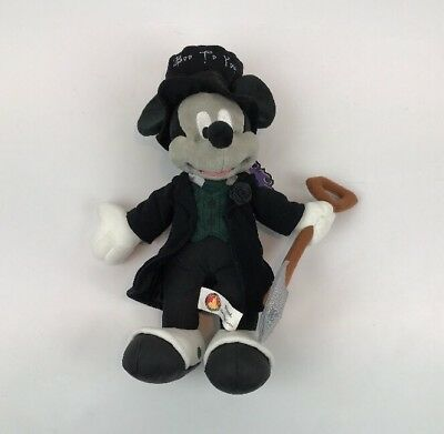 Disney Mickey Mouse Not So Scary Halloween Party Plush 2006 With Tags