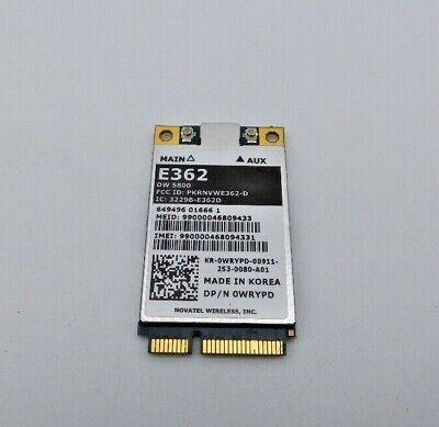 Dell 0WRYPD E362 Novatel Wireless Cellular Wireless card -
