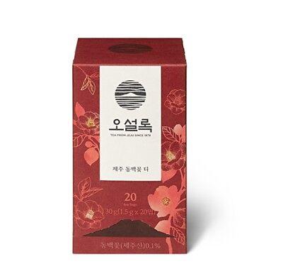 [Sale] OSULLOC Camellia Flower Tea Flower Blending Tea Jeju Home