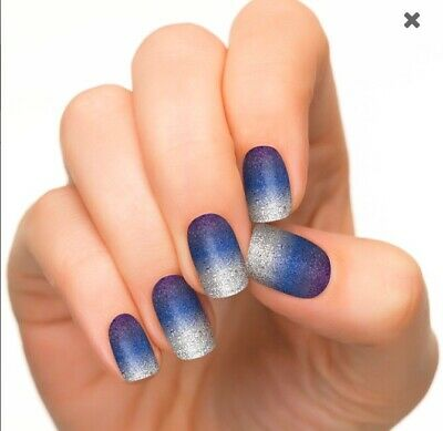 """Incoco Nail Polish Strips-""""Spaced Out""""-(Discontinued) NEW"""