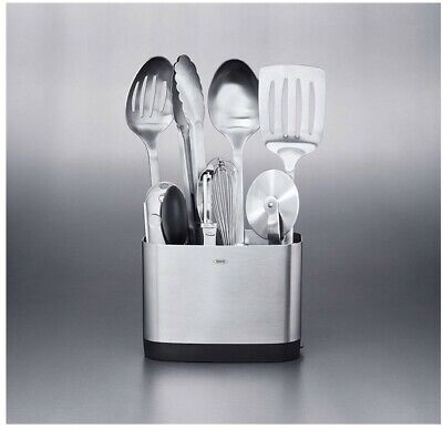 NEW OXO Stainless-Steel 9-Piece Utensil tool Set  Oxo Stainless Steel Spatula