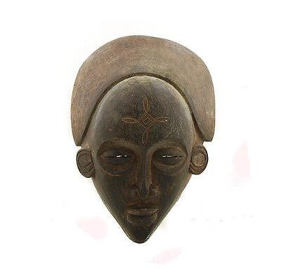 Mask African Tchokwe Art Tribale Ritual Ethnic M1