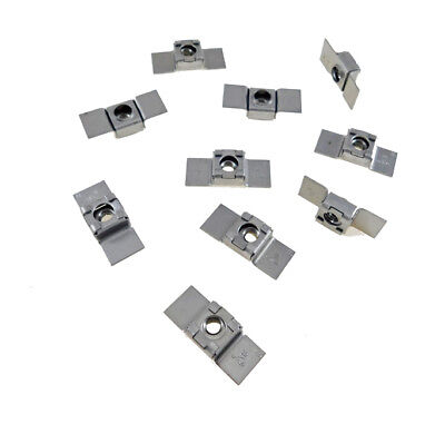 10 Pack 516-18 Floating Cage Nut - Weldable Stamping  Nr 51618
