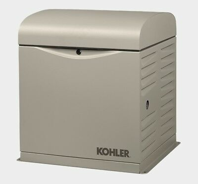 Kohler 10kw Stationary Back-up Power Generator Lp Vapor Or Natural Gas 10resv