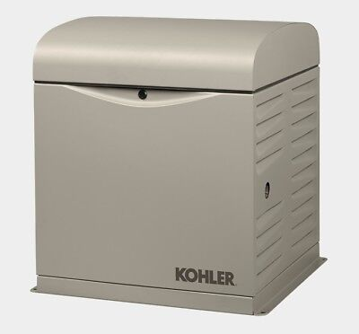 Kohler 10kw Stationary Back-up Power Generator Lp Vapor Or Natural Gas 10resv