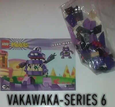 Mixels lego, mixel series 6, Vaka-Waka. put together once/never played with