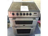 Cannon Chichester stainless steel gas cooker