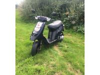 Piaggio Typhoon 50cc Moped **12 MONTHS MOT** Scooter Learner Legal Bike