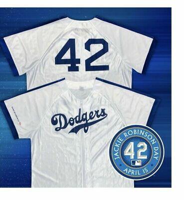 cb6328c2c7f Los Angeles Dodgers Jackie Robinson Jersey SGA 4/15/19 size XL