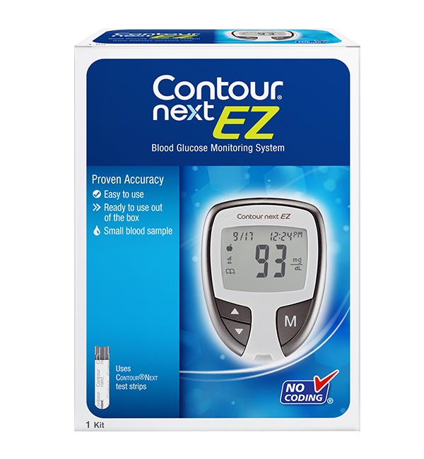 Bayer Contour Next Blood Glucose Monitoring System Kit Fast