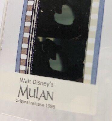 Disney Animation Authentic Film 5-Cell Strip MULAN Villain Shan-Yu - Mulan Villain